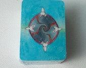 MINI Tarot Card deck - The TaRat - The Rat Tarot