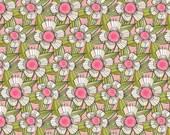 The Makers, Daisy Chain Pink by Cori Dantini Blend Fabrics 1 Yard