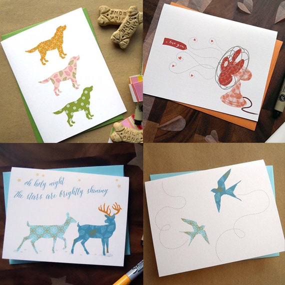 Make Your Own Boxed Set--6 cards of your choice