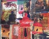 Dharma Three Jewels Buddhist Decor wall art free shipping