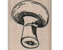 Rubber stamp    Mushroom   stamping   scrapbooking supplies number 10413