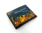 The Last Battle - Paperback Card Wallet - made from recycled vintage paperback book, mounted on leather