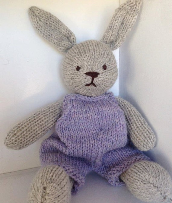 Bunny, Eco Kids Toy, Waldorf Toy Stuffed Animal, Bunny Rabbit,  CUSTOM ORDER, Natural and Eco Friendly, Heirloom Quality