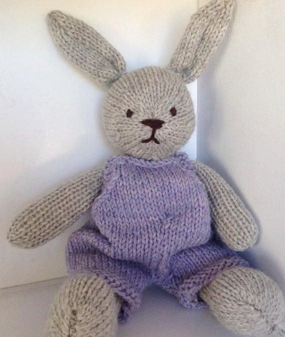 Bunny, Eco Kids Toy, Waldorf Toy Stuffed Animal, Bunny Rabbit,  CUSTOM ORDER, Natural and Eco Friendly, Heirloom Quality