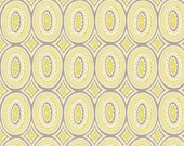 Dorothy Yellow and Grey Fabric - The Clementine Collection by Ana Davis for Blend Fabrics -  Premium Cotton Quilting Fabric - One Yard