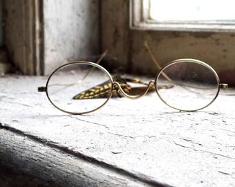 Antique Children's Reading Spectacles