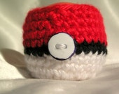 Pokemon Pokeball Lip Balm Holder with Clip for EOS Egg Lip Balm