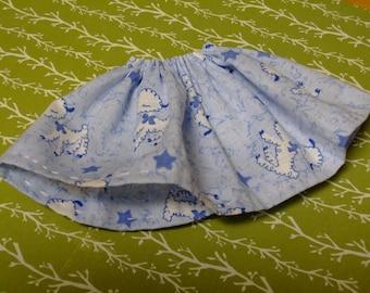 Blythe / DAL Skirt - Counting Sheep