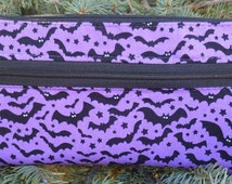 Bats e-cigarette travel case, long ecig carry case, Bats on Grape, The wide Vaper