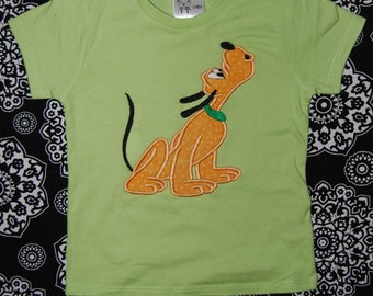 Pluto Dog  Shirt Custom size 12m - sz 14