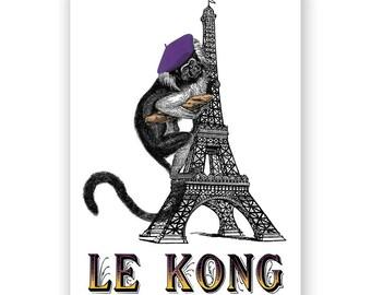 SALE! Le Kong - Blank Card