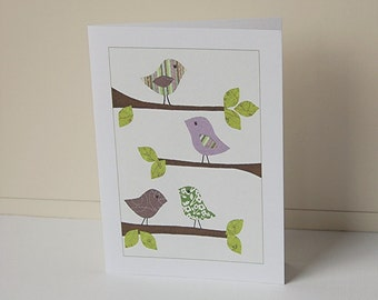 Birds Note Cards, Blank Note Cards, Card Set, Spring Note Cards, Greeting Cards, All Occasion Cards, Greeting Cards, Note Cards, Stationery