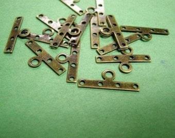 24pc antique bronze nickel free metal spacer-2430x2