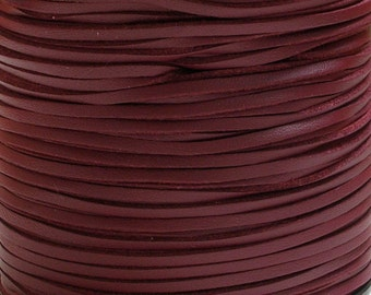 3mm Faux Suede Cord Leather Like (C68) Deep Red 15 feet 5 Yards PU Leather Crafts Jewelry Bracelets Necklace Stringing Suede Lace USA Seller