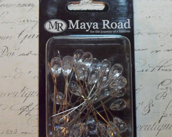 Maya Road Trinket Pins - Crystal