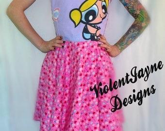 PowerPuff Girls Bubbles Dress Vintage Inspired
