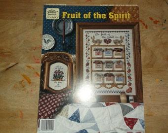 Fruit of the Spirit Cross Stitch Pattern booklet