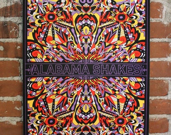 Alabama Shakes - Official Beacon Theatre Gigposter
