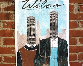 Wilco - Winterlude 2014 Poster - 3 - Chicago, Illiniois