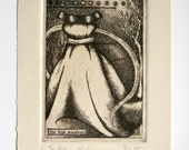 2: The High Priestess - limited edition fine art intaglio etching