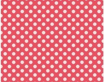 Simply Sweet Red Dot by Riley Blake - 1 yard