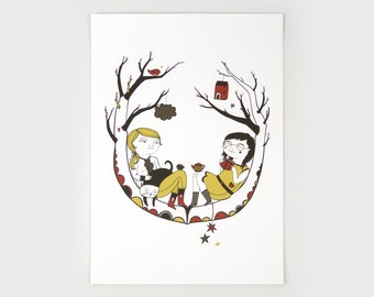 In the Tree - Giclee Print