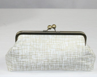 Gold Clutch, wedding clutch, wedding bag, bridesmaid clutch, Bridal clutch, Purse for wedding