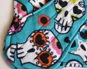 Sugar Skulls Cloth Sanitary Pad - Panty Liner