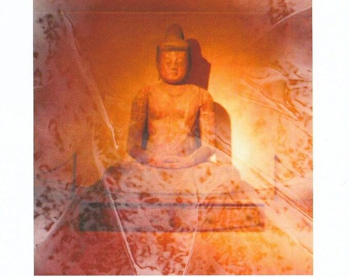 Beautiful Buddha frameable large card