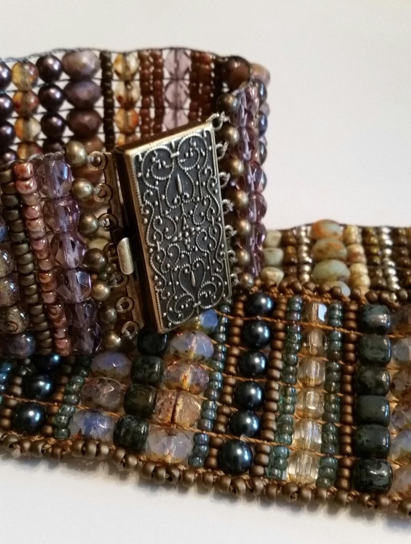 beaded loom bracelet tutorial pdf instant