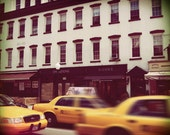 Taxi Series 3 - New York City Landscape Photography Print by Leigh Viner