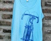 Awesome Women's Bicycle Art Tank Top - Classic Road Racing Bike Tank Top