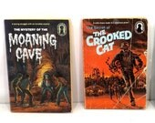Vintage Alfred Hitchcock and the Three Investigators Paperback Books/ Lot of 2/ Moaning Cave/ Crooked Cat