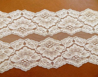 IVORY Lace Table Runner 10 ft. Wedding Runners, Table Runners, Bridal Lace U.S.A. Made