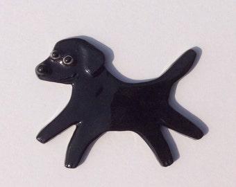 Mosaic Tile or pin Porcelain Ceramic Labrador Retriever