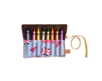 CLEARANCE Eco Crayon Roll | London Calling