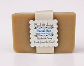 Tea Tree Oil Facial Bar Goat Milk Soap