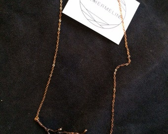 Trees Come Down necklace