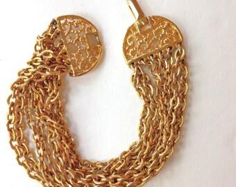Celebrity NY Jewelry Gold Link Bracelet
