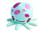 Cute Artist Designed Sweetoof Octopus Pun Plush Toy