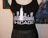 chicago festival mesh crop tank top