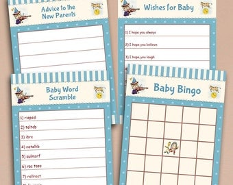 Word scramble hey diddle diddle instant download boy baby cute