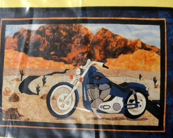 Quilting Pattern Don't Tell Mom John's Journey Design For Men UNCUT Complete