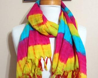 Multi-Coloured Fashion Scarf