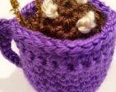 Crochet Hot Cocoa Ornament