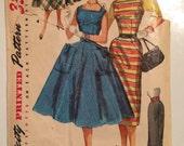 Vintage 1950s Simplicity #1247 Size 142 Bust 30 UNCUT