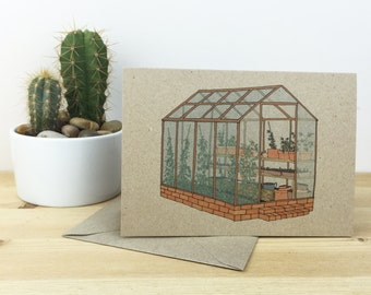greenhouse card (100% recycled)