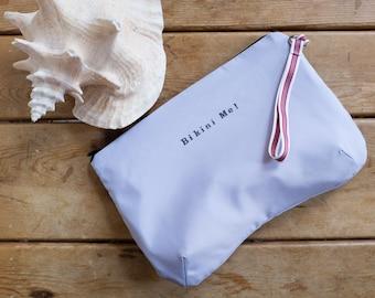 Bikini Bag, water resistant in icy lavender