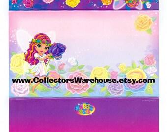 Lisa Frank Postalette Rosa the Fairy fold up stationery letter flowers Roses garden