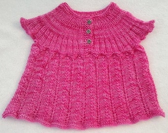 Lacy Baby Top Pattern PDF